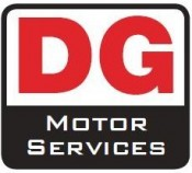 DG Motor Services website logo