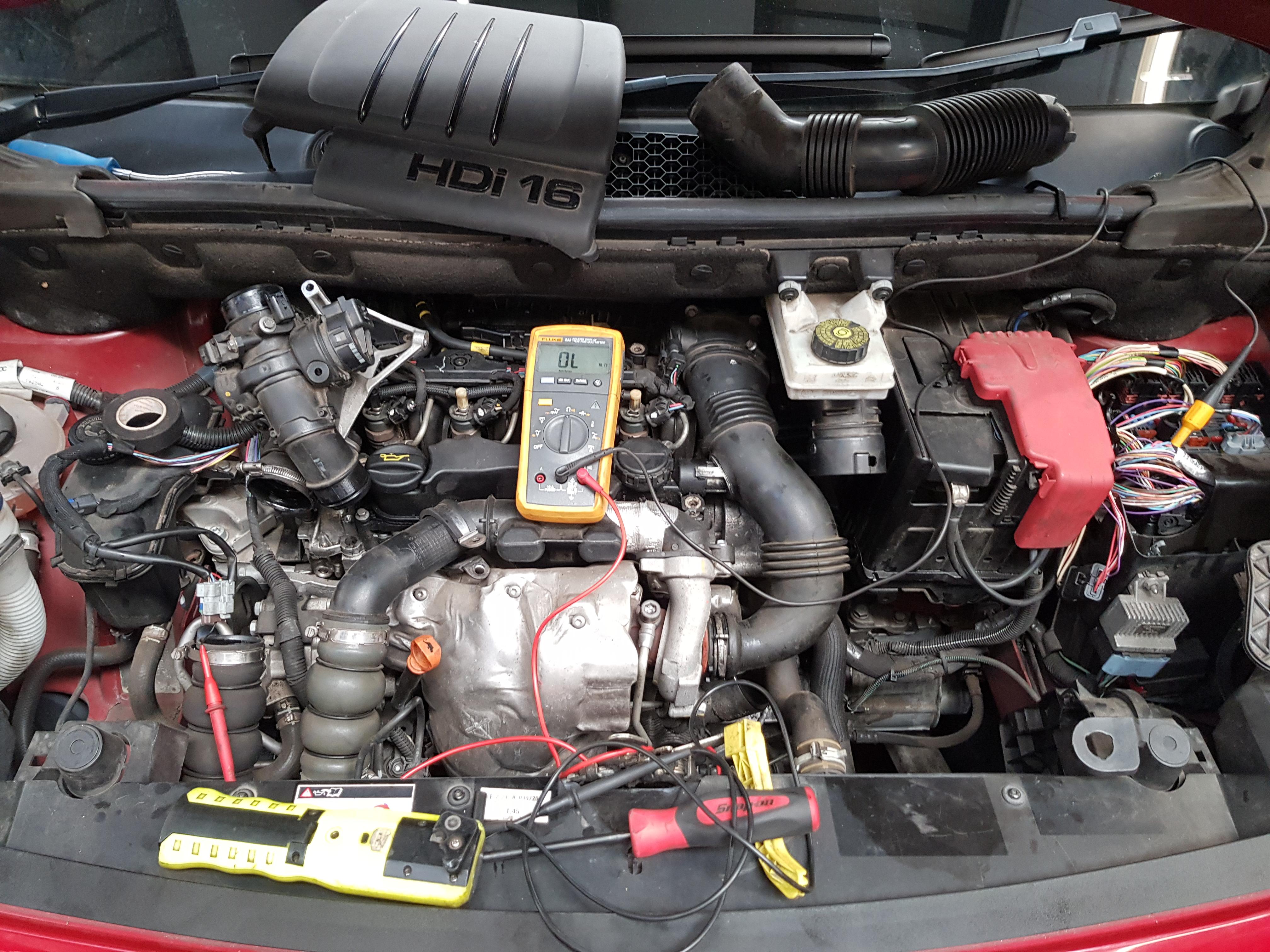 Dg Motor Services  U00bb Citroen  U2013 P1471 Egr Motorised Throttle